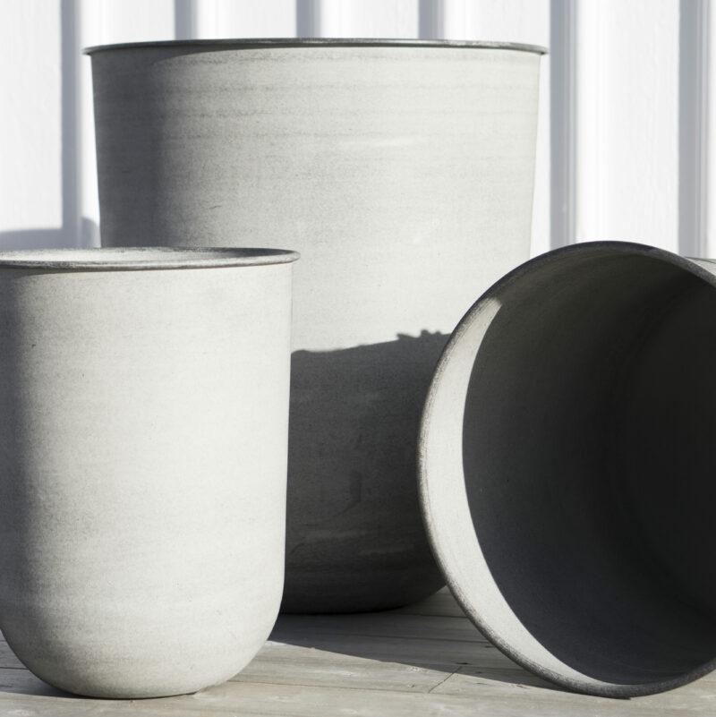 Utekruka Dbkd Out Light Grey Green Flowers Amp Pots